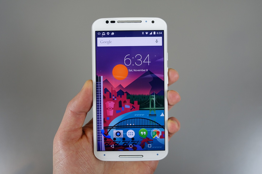 Android Lollipop Moto X