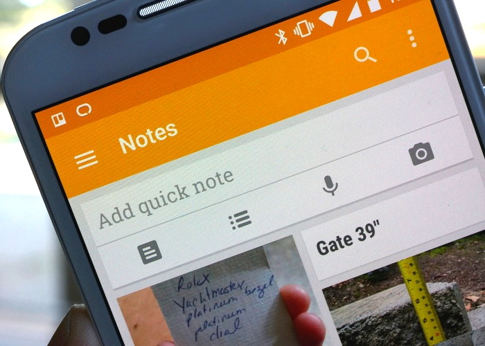 Google Keep Material Design