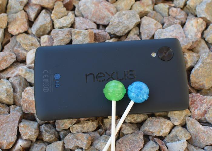 Nexus Android 5.0 Lollipop
