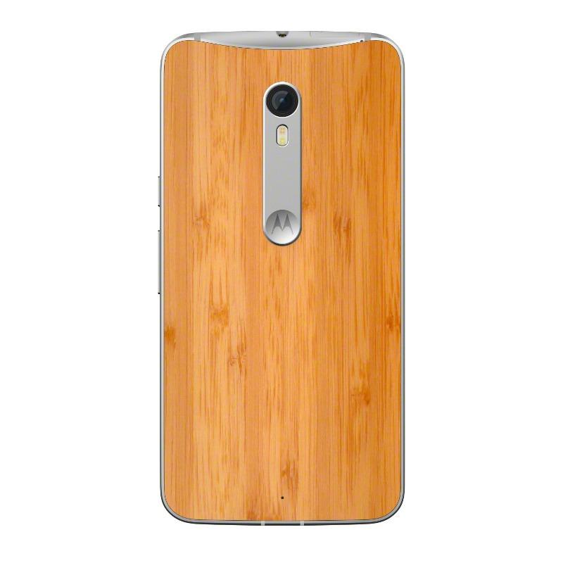 Moto X Style wood