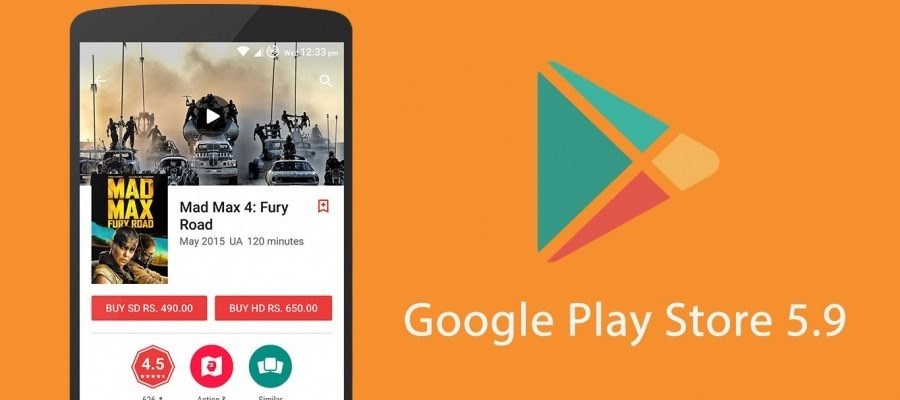5.9 play store